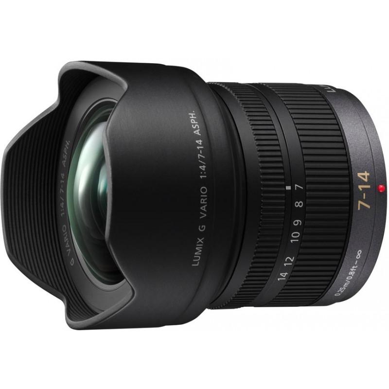 Panasonic Lumix G Vario 7-14mm f/4.0 ASPH. objektiiv