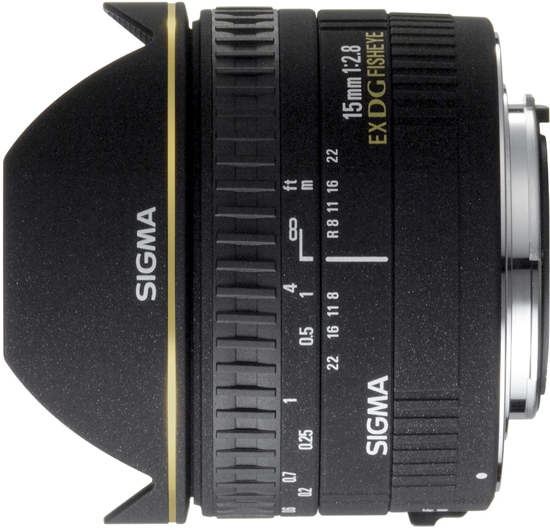 Sigma 15mm f/2.8 EX DG Diagonal Fisheye ..