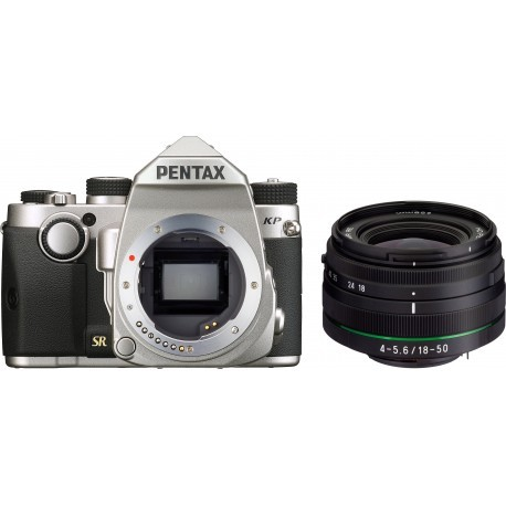 Pentax KP + DA 18-50mm RE Kit, silver