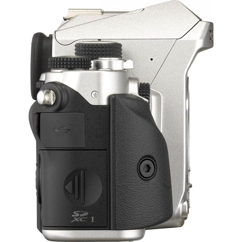 Pentax KP + DA 18-50mm RE Kit, hõbedane