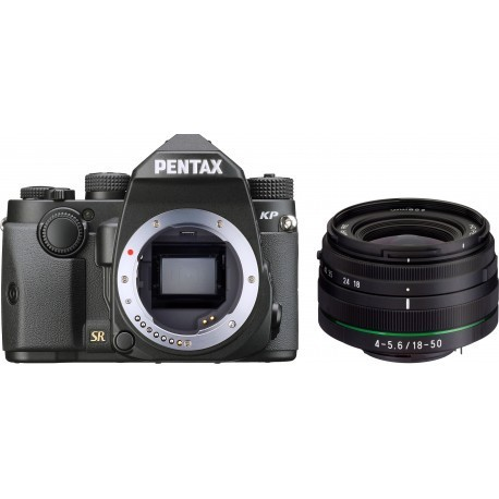 Pentax KP + DA 18-50mm RE Kit, melns