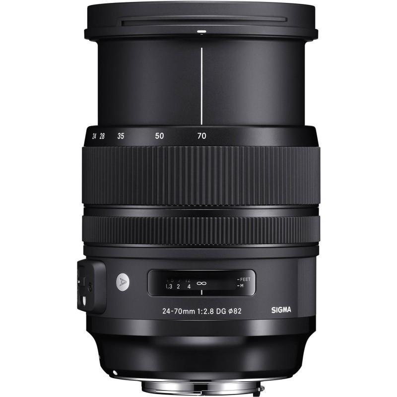 Sigma 24-70mm f/2.8 DG OS HSM Art objektiiv Canonile