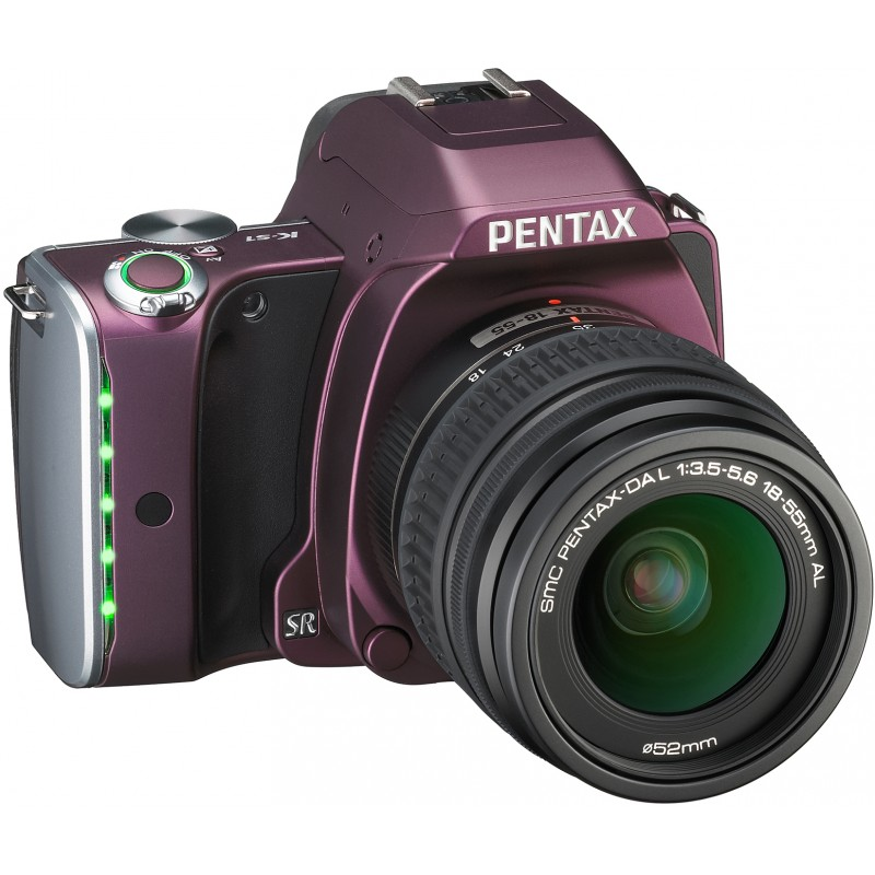 Pentax K-S1 + 18-55mm Kit, Dawn Purple