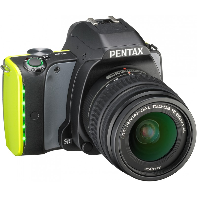 Pentax K-S1 + 18-55mm Kit, Midnight Black