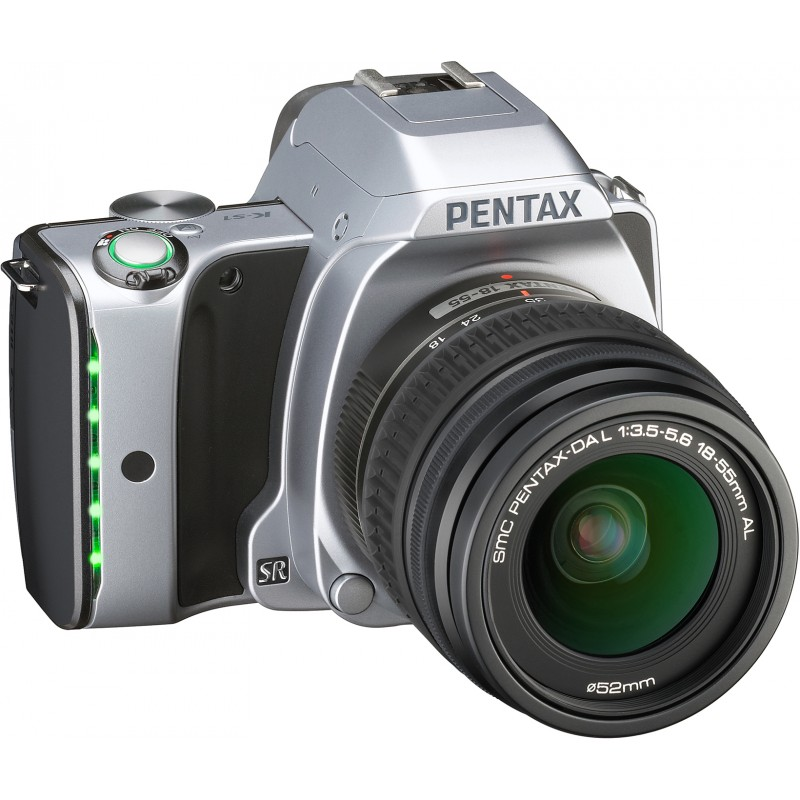 Pentax K-S1 + 18-55mm Kit, Moon Silver