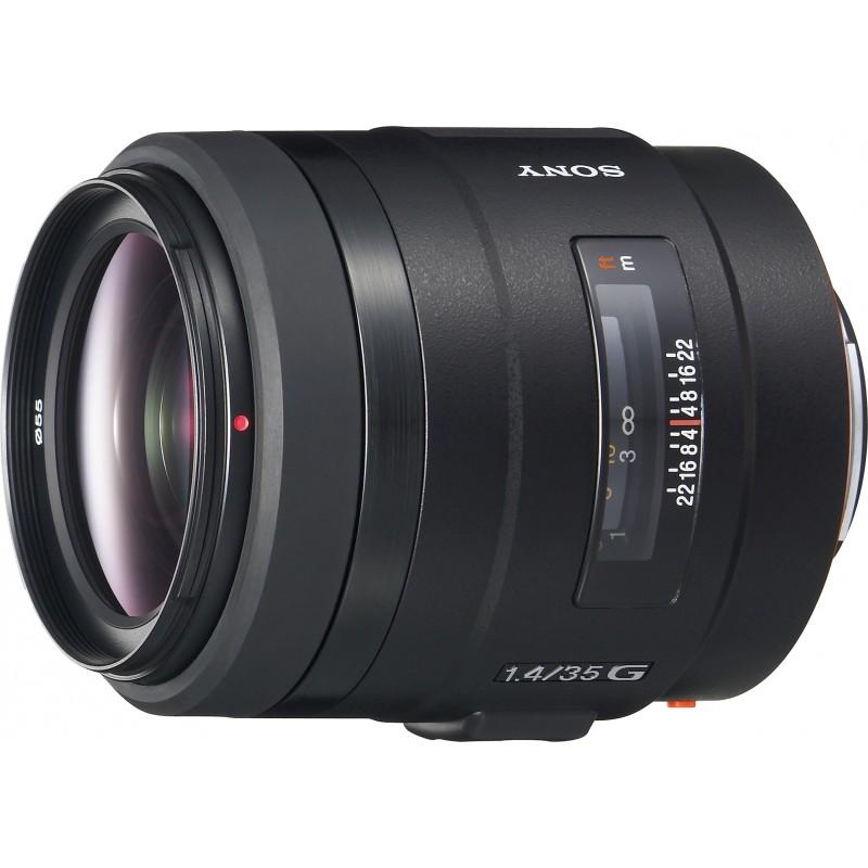 Sony 35mm f/1.4 G objektiiv
