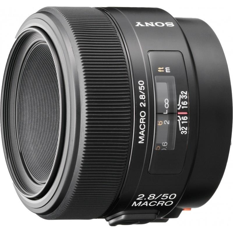 Sony 50mm f/2.8 Macro objektiiv