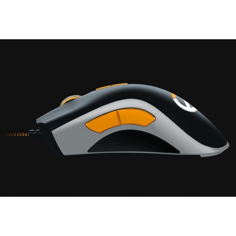 Razer mouse DeathAdder Elite, black/silver/orange