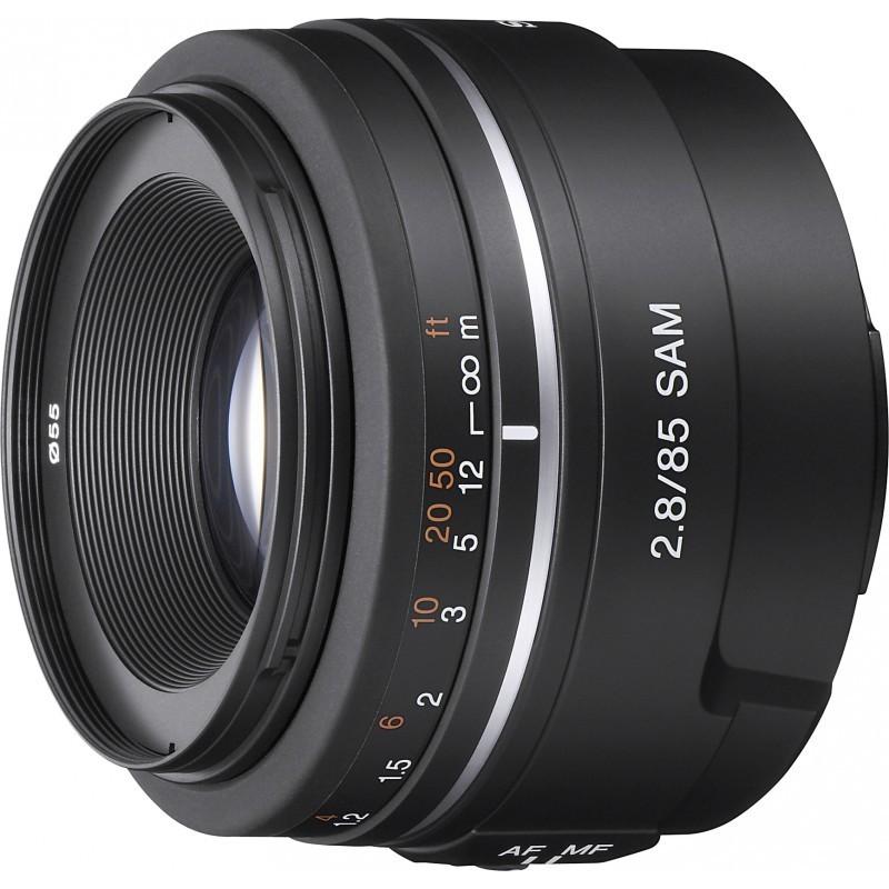 Sony 85mm f/2.8 SAM objektiiv