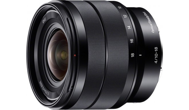 Sony E 10-18mm f/4.0 OSS objektiiv