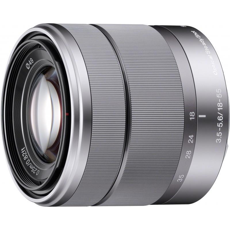 Sony E 18-55mm f/3.5-5.6 OSS objektiiv