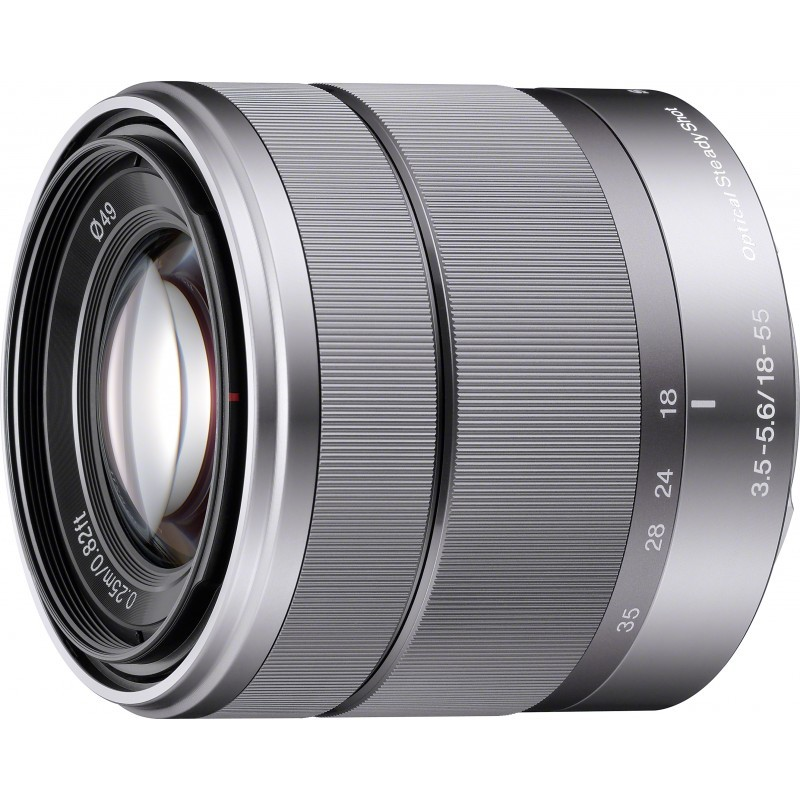 Sony E 18-55мм f/3.5-5.6 OSS объектив