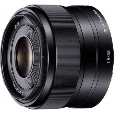 Sony E 35mm f/1.8 OSS objektīvs