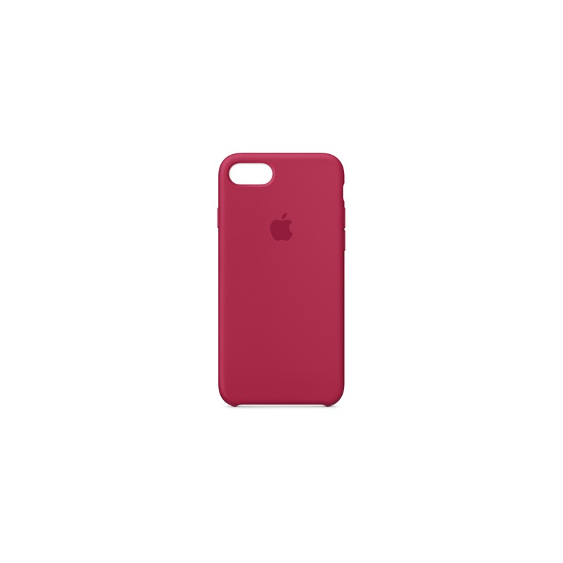 brand new fbd4b fc30a Apple Silicone Case iPhone 8/7, rose red