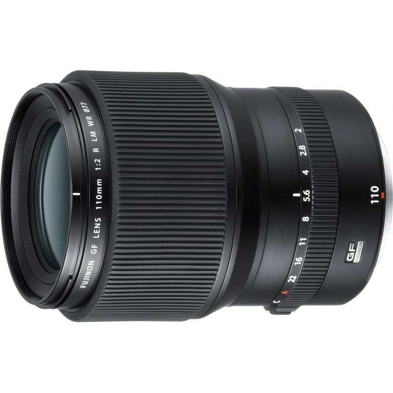 Fujinon GF 110mm f/2 R LM WR objektiiv