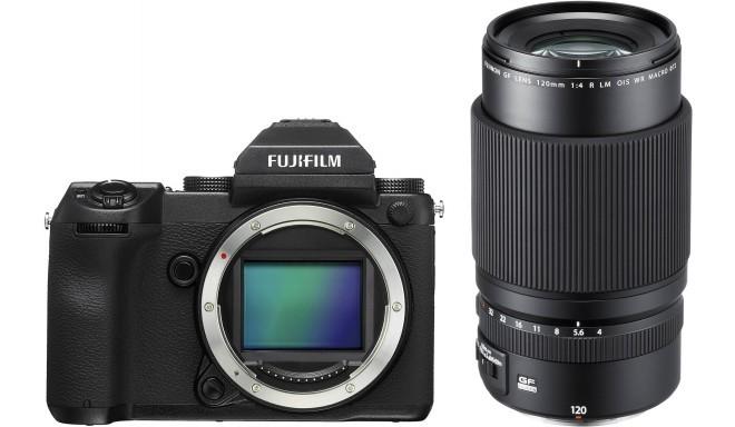 Fujifilm GFX 50S + 120 мм f/4