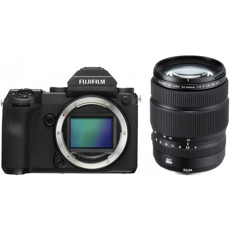 Fujifilm GFX 50S + 32-64mm f/4