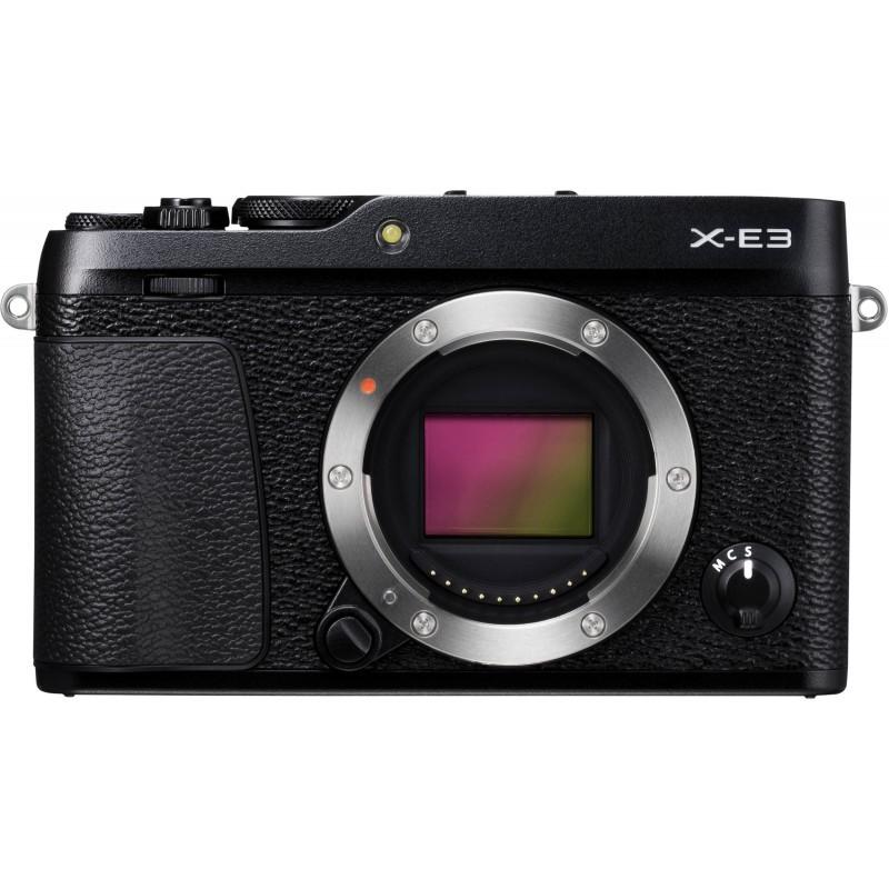 Fujifilm X-E3 kere, black