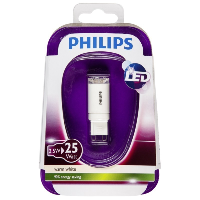 philips led lamp rewriter g9 2 5w led lambid photopoint. Black Bedroom Furniture Sets. Home Design Ideas