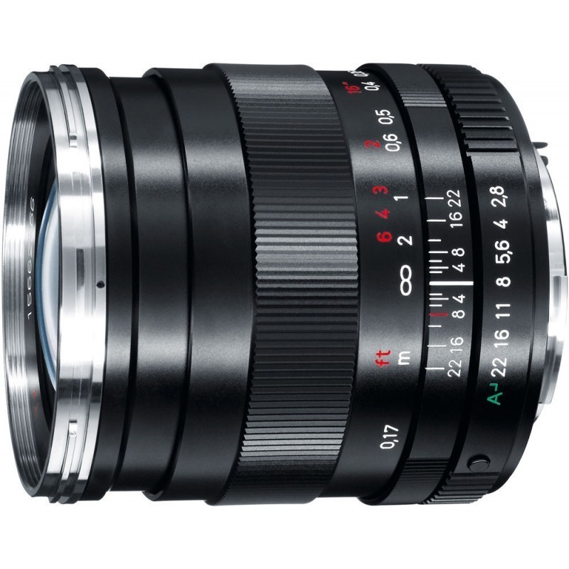 Zeiss Distagon T* 25mm f/2.8 ZK objektiiv Pentaxile