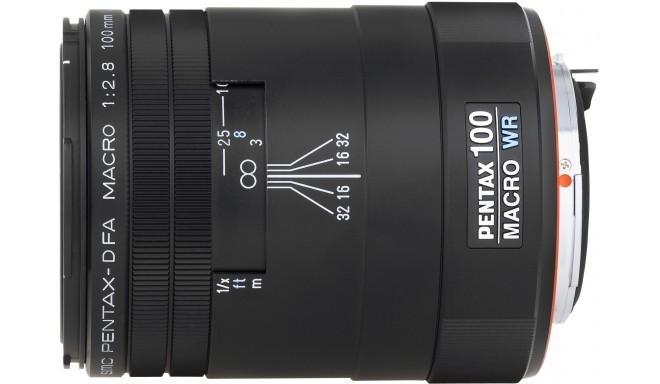 smc Pentax D FA 100mm f/2.8 Macro WR objektiiv