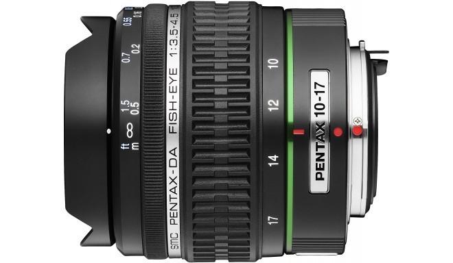 smc Pentax DA 10-17mm f/3.5-4.5 ED (IF) objektiiv