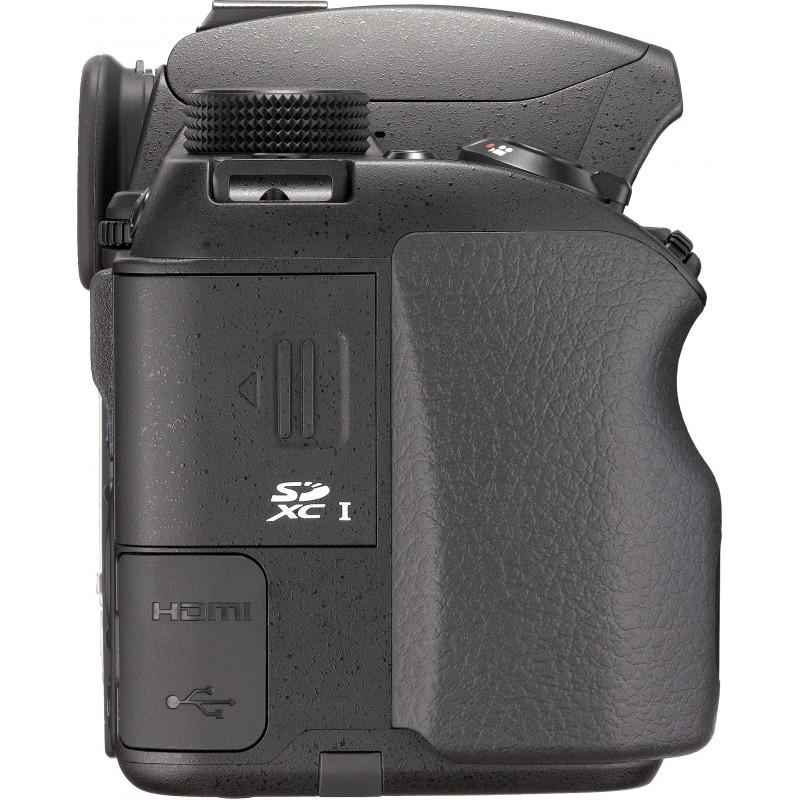 Pentax K-70 + DA 18-50mm RE Kit, black