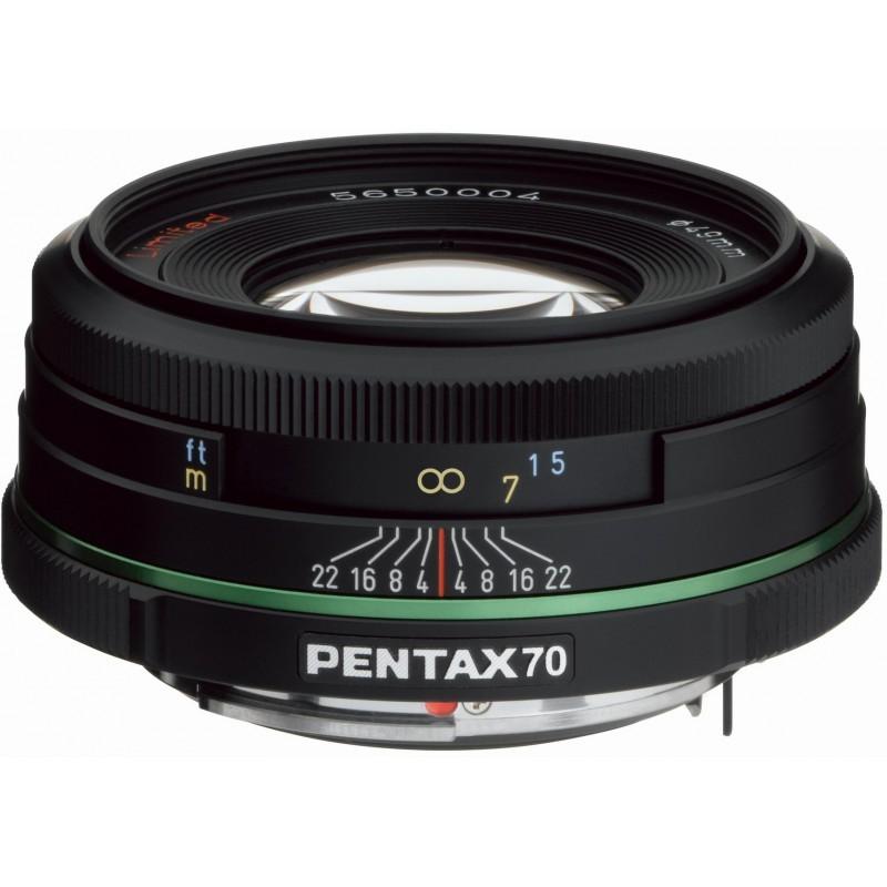 smc PENTAX DA 70mm f/2.4 Limited objektiiv