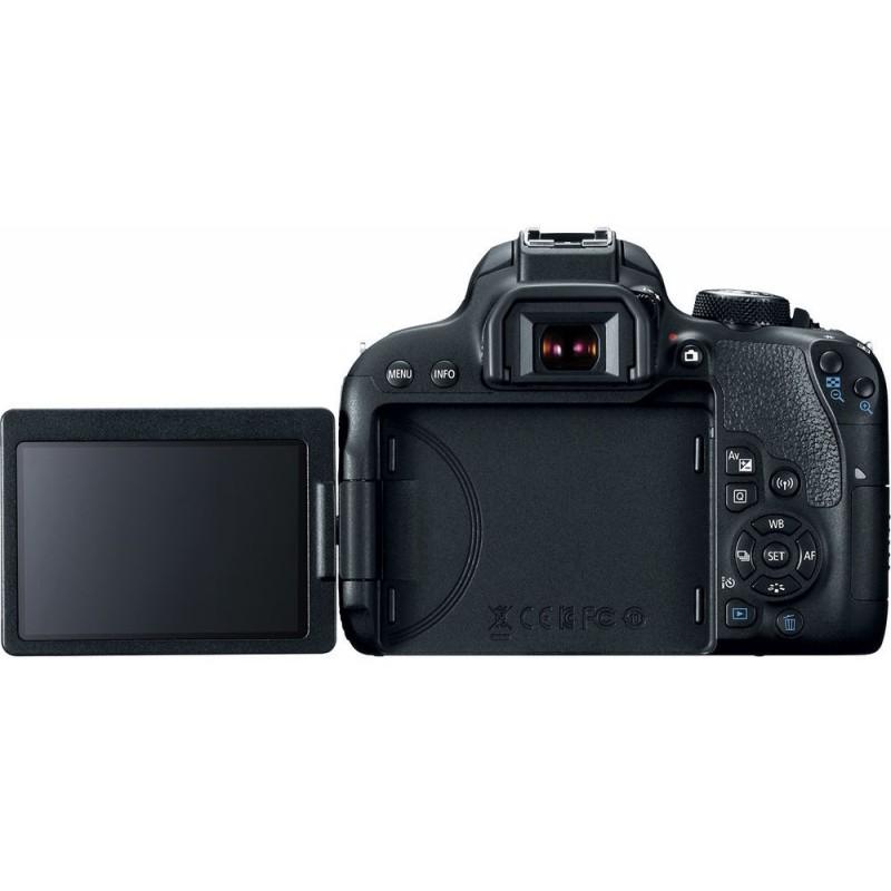 Canon EOS 800D + Tamron 18-400mm