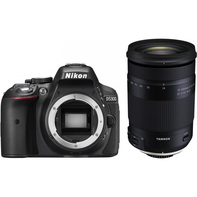 Nikon D5300 + Tamron 18-400mm, must