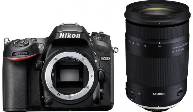 Nikon D7200 + Tamron 18-400mm