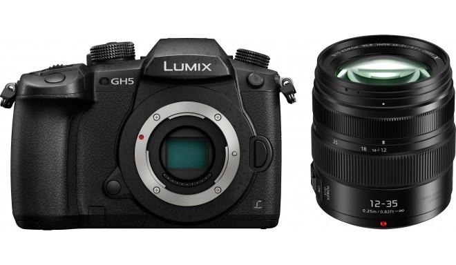 Panasonic Lumix DC-GH5 + 12-35mm f/2.8