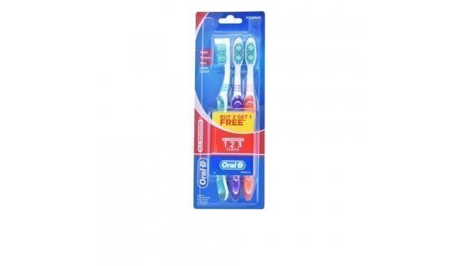 ALL ROUNDER CLEAN cepillo dental #medio 3 pz