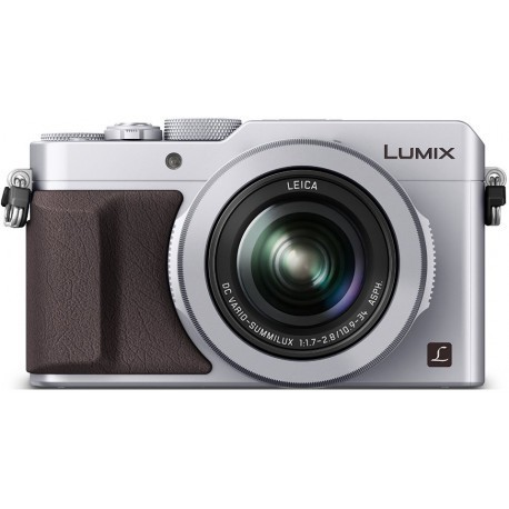 Panasonic Lumix DMC-LX100, серебристый