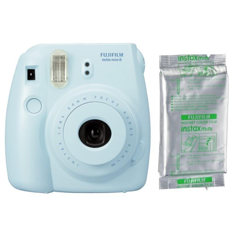 Fujifilm Instax Mini 8 Set incl  Film blue