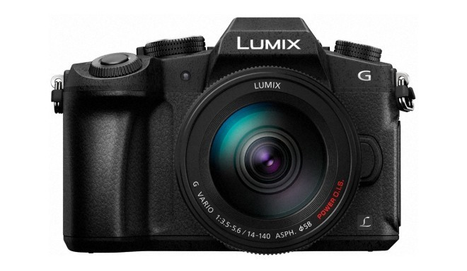 Panasonic Lumix DMC-G80 + 14-140 мм Kit