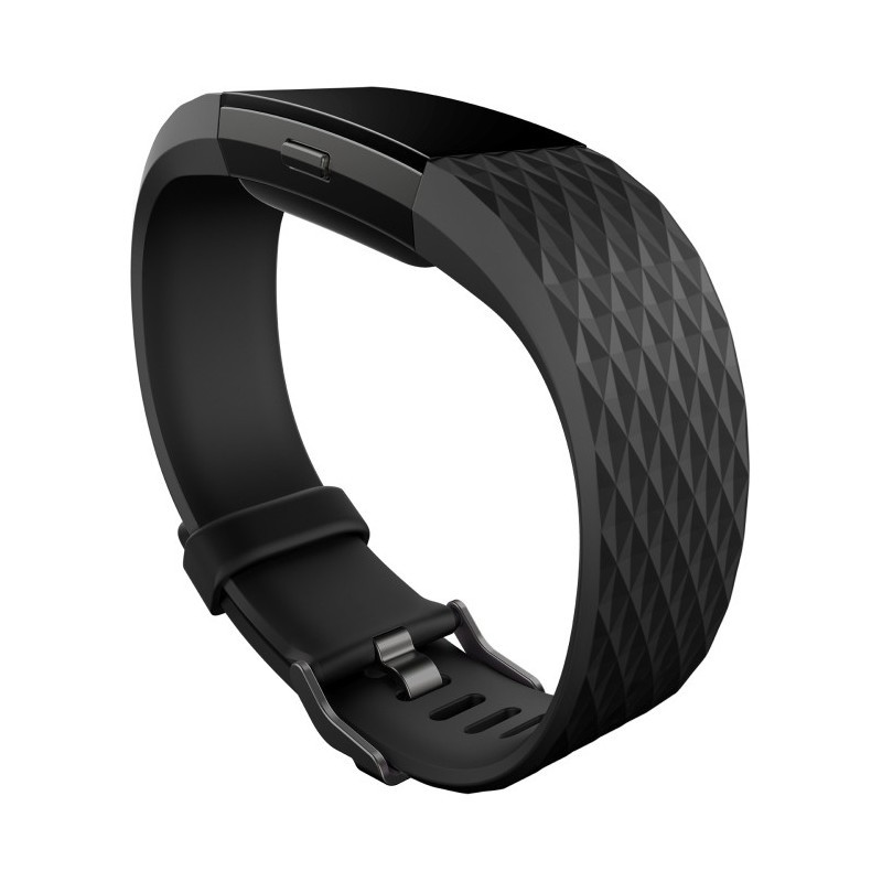 Fitbit activity tracker Charge 2 S, black/gunmetal - Activity trackers - Photopoint