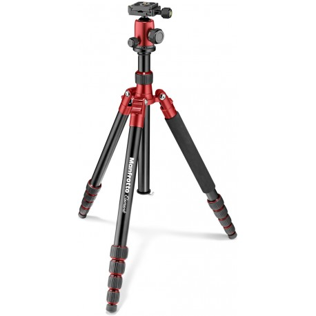 Manfrotto statīvs Element Traveller Big MKELEB5RD-BH, sarkans