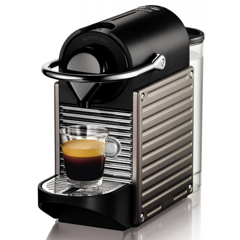 Krups Nespresso Pixie titan - Coffe & espresso makers - Photopoint