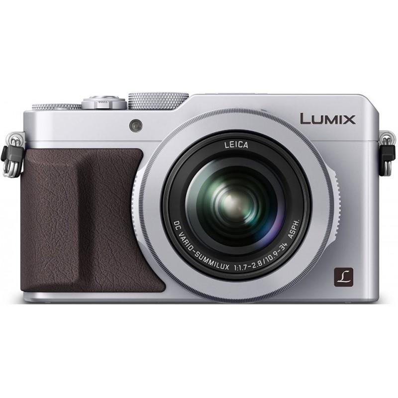 Panasonic Lumix DMC-LX100, hõbedane + lisaaku