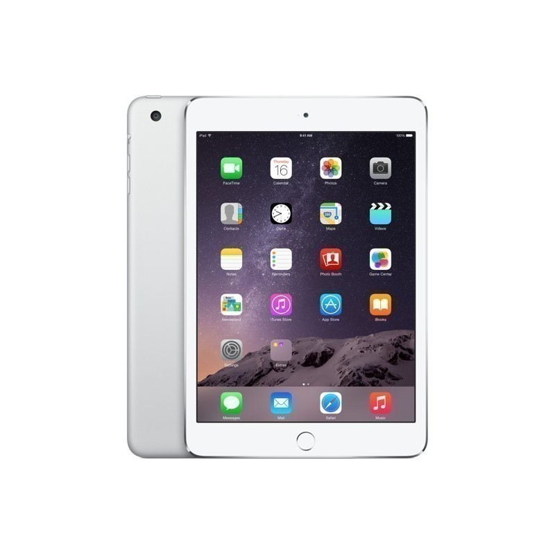 Apple iPad Mini 3 16GB WiFi + 4G A1600, hõbedane