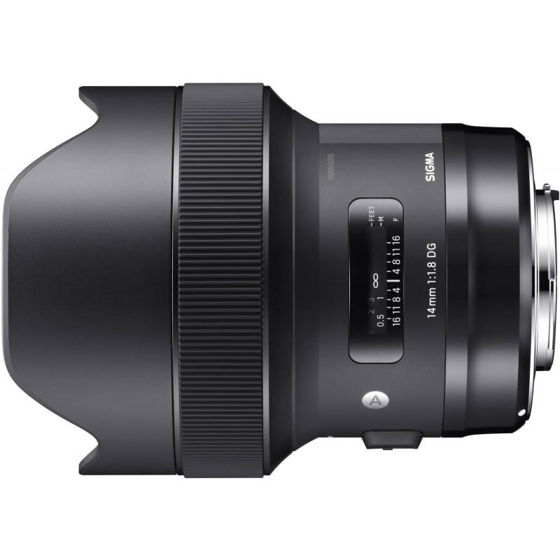 Sigma 14mm f/1.8 DG HSM Art objektiiv Nikonile