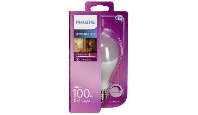 Philips Led Lampe E27 Dim Matt 16w 100w Warm White 1521 Lm Led