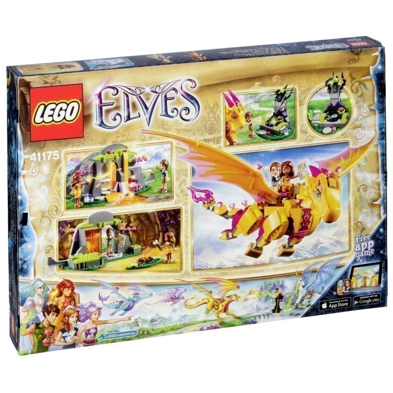 41175 >> Lego Elves Toy Blocks Dragon S Lava Cave 41175 Lego Photopoint