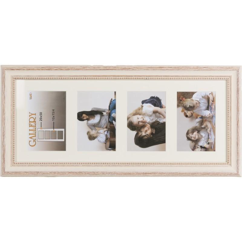 Photo frame Verona Gallery 20x50/4/10x15 (VF2506), beige - Photo ...