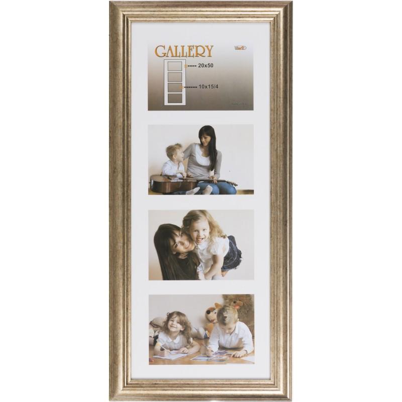 Photo frame Ema Gallery 20x50/4/10x15, bronze (VF3968) - Photo ...