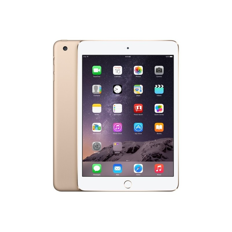 Apple iPad Mini 3 16GB WiFi + 4G A1600, kuldne