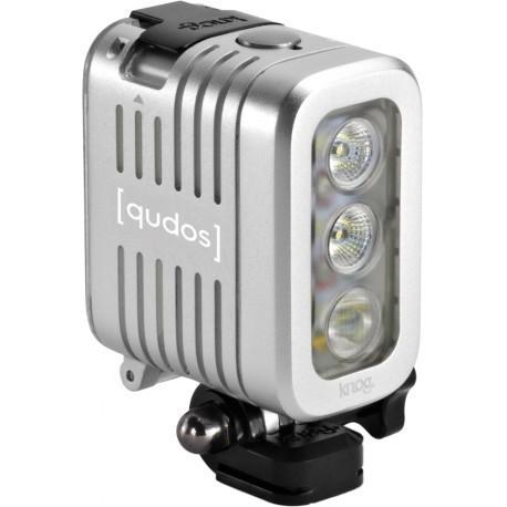Knog [Qudos] Action videovalgusti, hõbedane