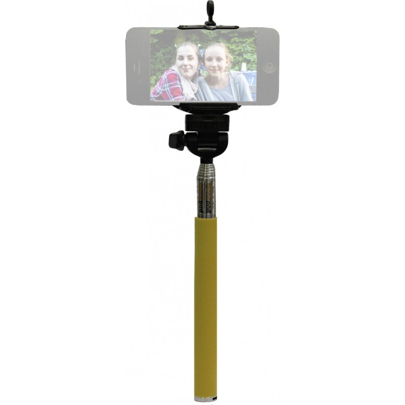 SelfieMAKER Smart käsistatiiv, kollane/roheline
