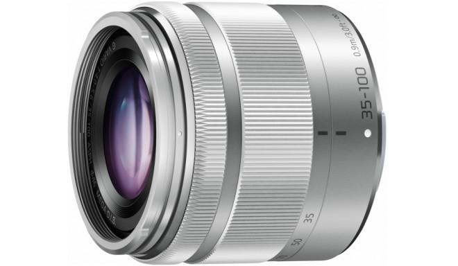 Panasonic Lumix G Vario 35-100mm f/4.0-5.6 ASPH MEGA O.I.S objektiiv, hõbedane